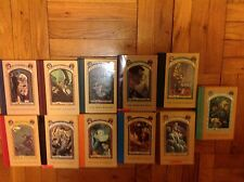Lemony Snicket A Series of Unfortunate Events set of 11 books