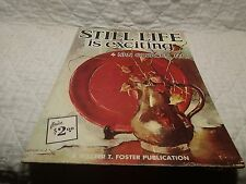 Still Life is Exciting by Nan Greacen Publisher Walter T. Foster Painting Book