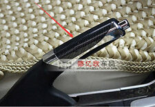 Universal Car Accessory Hand Brake Carbon Fiber Style Protector Decoration Cover
