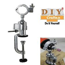 Universal Clamp Grinder Hold Bench Vise Electric Drill Stand Grinder DIY Craftse