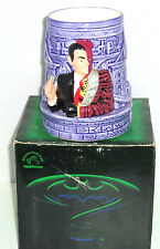 Batman Forever Coffee Mug Purple Ceramic Figural Cup Applause Retired
