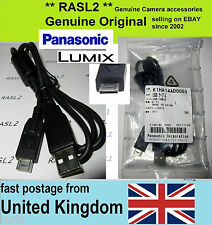 Genuine Original Panasonic LUMIX USB Cable DMC-FZ100 DMC-GF2 Leica V-LUX 20, 2