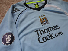 Authentic EPL Manchester City Elano Blumer Football Soccer Jersey Shirt 2XL Game
