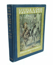 Little Lord Fauntleroy - antiquarian edition of Burnett's classic, illus cover