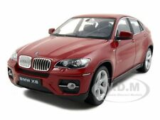 2011 2012 BMW X6 RED 1/24 DIECAST CAR MODEL BY WELLY 24004