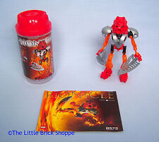 Rare Lego Bionicle 8572 Toa Nuva TAHU - Boxed and complete with instructions
