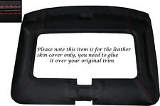RED STITCH ROOF LINING HEADLINING SKIN COVER FITS TOYOTA MR2 MK1 84-90