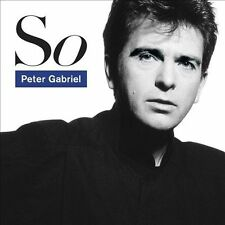 So - Peter Gabriel Compact Disc ~ NEW & SEALED