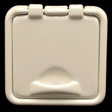SSi Custom White 5 1/2 x 5 1/2 Inch Marine Boat Battery Switch Housing Box