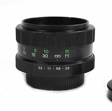 Cosina Cosinon 50mm f/2.8 M42 Tessar Design Rare Manual Lens Japan *TEST SHOTS*