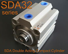 High Quality SDA32x20 Pneumatic SDA32-20mm Double Acting Compact AIR Cylinder