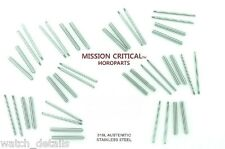 MISSION CRITICAL™ HOROPARTS 20 Tubes & Screws for Panerai® 40mm - 10 Sets  22mm