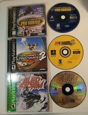 Classic PlayStation Games Tony Hawk's Pro Skater 1 2 Sled Storm PS1 CiB Complete