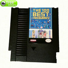 BEST TOP 100! 8 bit Games for NES Retro Cartridge 1! BUILT IN SAVE FUNCTION!