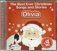 OLIVIA - THE BEST EVER CHRISTMAS SONGS & STORIES PERSONALISED CD