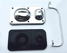 68-80 GM Master Cylinder Cover Chrome with Rubber Gasket & Bail Trans am etc NEW