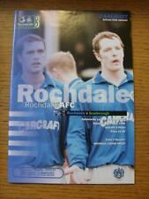 11/04/1998 Rochdale v Scarborough  (No apparent Faults)