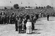 WW2 - Le Gal de Gaulle à Saint-Marcel (Morbihan) le 27 juillet 1947
