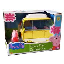 Nuevo Peppa Pig Peppa's caravanas con Peppa Figura Y Accesorios