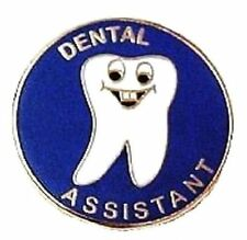 Dental Assistant Tooth Professional Medical Lapel Pin Smiley Face 112 New
