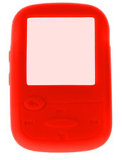 NEW Silicone Skin Case Cover for SanDisk Sansa Clip Sport MP3 Player - Red
