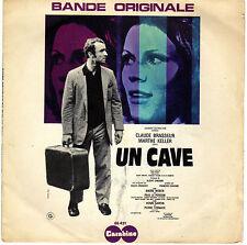 BOF UN CAVE / THEME DE CATHERINE ALAIN LE MEUR J. DENJEAN FRENCH 45 SINGLE OST