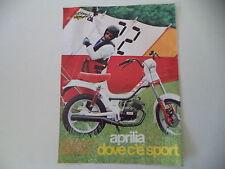 advertising Pubblicità 1982 APRILIA FILO 50 G4 L