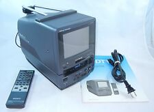 SONY Trinitron Color Video  TV  EV-DT1 VIDEO8 Combo Player  MINT Bundled Remote