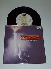 "FASTWAY - I've Has Enough - Rare 1990 UK limited edition 2--track 7"" Single"