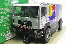 AVANT 50407 MAN RED BULL DAKAR 4 WHEEL DRIVE TRUCK NEW 1/32 SLOT CAR