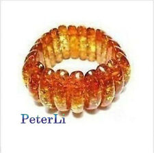 Rare Asian Genuine Tibetan Amber Bracelet Bangle