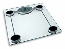 DIGITAL ELECTRONIC LCD PERSONAL GLASS BATHROOM BODY WEIGHTING SCALE LOSE FAT