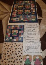 Fabric-Quilt ANGEL Little Quilt and Pillow Fabric Panel