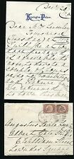 LETTER & ENVELOPE MARY ADELAIDE DUCHESS TECK CAMBRIDGE QUEEN MARY