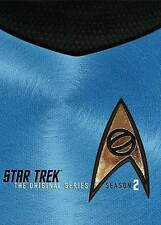STAR TREK-ORIGINAL SERIES REMASTERED-SEASON 2 (DVD//8DISCS) - brand new