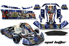 AMR Racing Graphics CRG NA2 Kart Wrap New Age Sticker Decal Kit MAD HATTER FULL