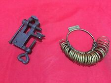 OLD JEWELRY TOOLS GERMAN TOOL RING SIZER STRETCHER ANVIL BENCH BLOCK VERY CUTE