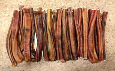 "25 Pieces - 6"" *USA MADE* Beef Bully STICKS Dog Treat Chew NATURAL True Chews"