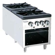 Atosa Double Stock Pot Stove Propane - ATSP-18-2