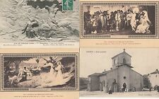 Lot de 4 cartes postales anciennes DOMREMY jeanne d'arc 6