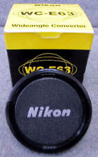 Vintage and Experienced Nikon WC-E63 Wide Angle converter with Box-Used&Untested