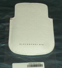 Genuine BlackBerry Q10 WHITE Leather Pocket Pouch Proximity Sensor HDW-56737-001