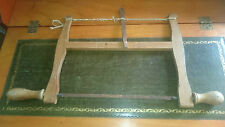 A Vintage Elliott 10 inch Wooden Bow Saw