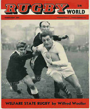 RUGBY WORLD MAGAZINE THE PERFECT GIFT FOR A RUGBY FAN BORN IN FEBRUARY 1964