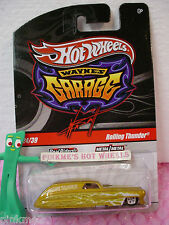 2010 WAYNE'S Garage #24 ROLLING THUNDER∞Chase ∞Yellow-Gold✿realriders✿Hot Wheels