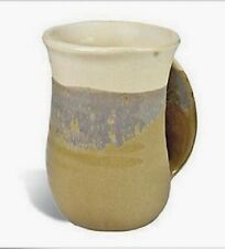 Clay In Motion Neher Handwarmer  Mug Desert Sand Right Hand
