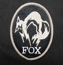 METAL GEAR SOLID FOX HOUND LOGO BADGE PS4 XBOX SPECIAL BLACK OPS IRON ON PATCH