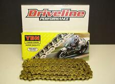 BANSHEE DRAG RACING 160LINK HEAVY DUTY GOLD CHAIN WITH TENSIONER