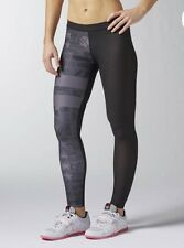 Women's Reebok Crossfit PWR6 Compression Tights Free Shipping Size Large