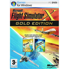 Microsoft Flight Simulator X - Gold Edition FSX (Original PC Games) New Sealed